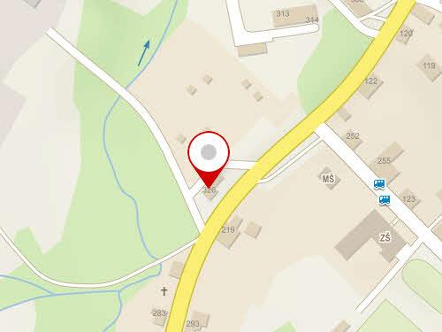 Mapa čerpací stanice Vendys, Chřibská
