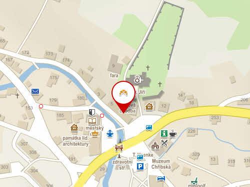 Mapa pekařství Šumava, Chřibská